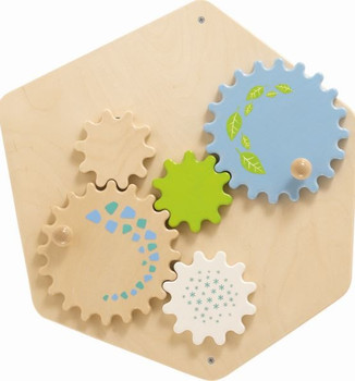 Grow.upp Gears Wheels Activity Wall Toy