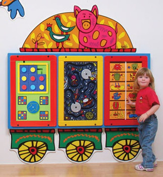 Funky Wagon Activity Station