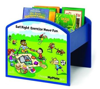 MyPlate Kinder Book & Media Browser Bin