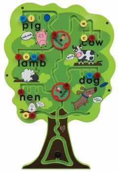 Alphabet Tree Wall Activity