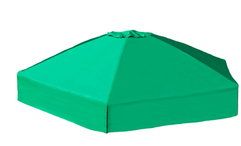 Collapsible Sandbox Cover Hexagon 7ft x 8ft 1