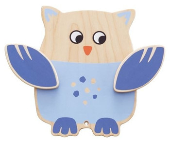 Owl Interactive Wooden Play Wall Toy