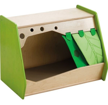 Grow.upp Cubby Hole Cave w/ Curtain 2