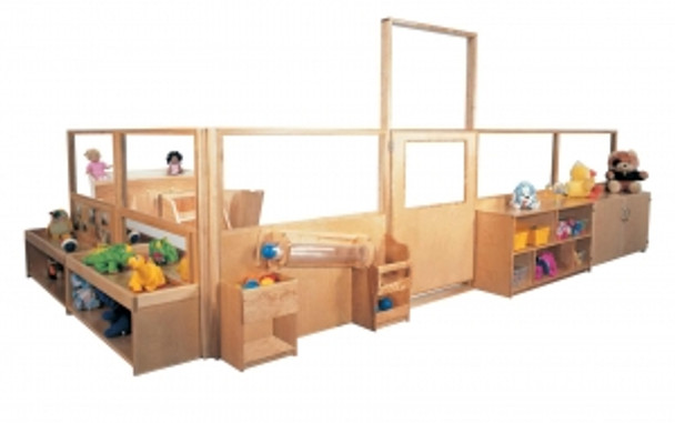 Deluxe Room Divider System, 48''h 1