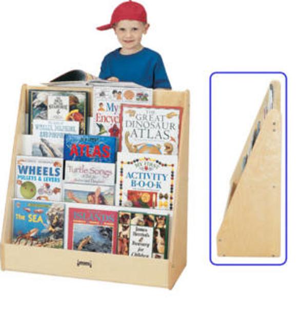 Jonti-Craft 1 Sided Pick a Book Stand Flush Back 1