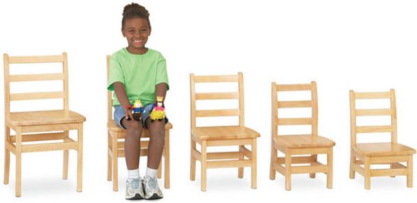 Jonti-Craft KYDZ Ladderback Chair - Set of 2 1