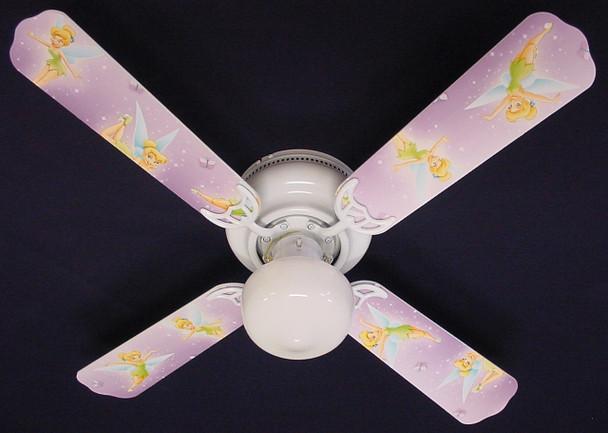 """Tinkerbell Fairy Purple Ceiling Fan 42"""" 1"""