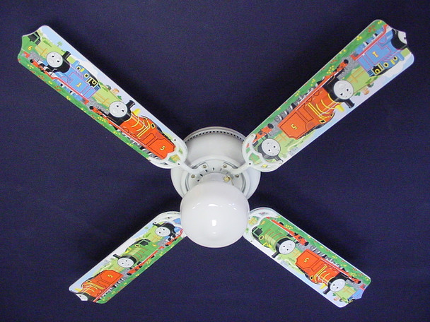 "Thomas Tank Engine Train Percy Ceiling Fan 42"" 1"