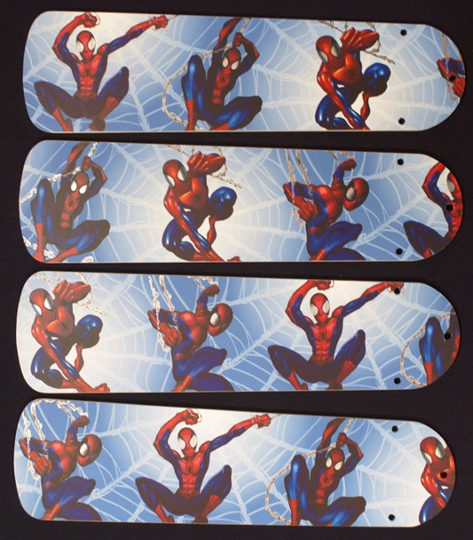 """Amazing Spiderman 3 Ceiling Fan 42"""" Blades Only 1"""