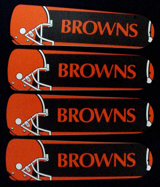 """NFL Cleveland Browns Ceiling Fan 42"""" Blades Only 1"""