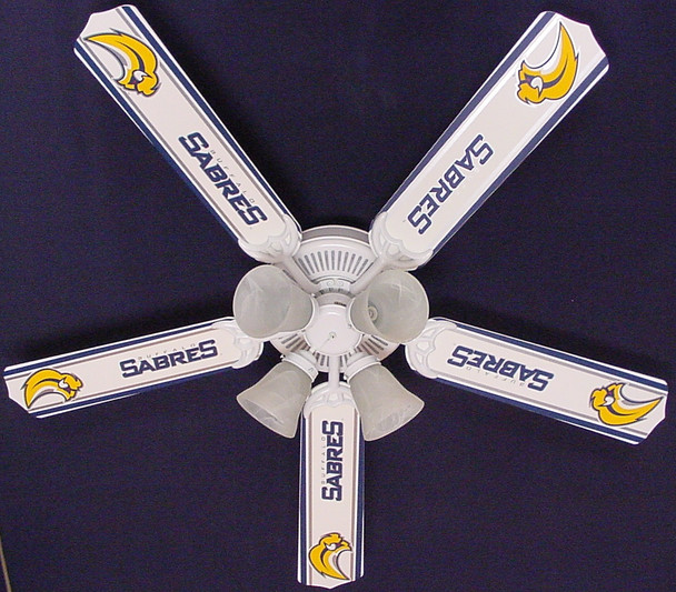 """NHL Buffalo Sabres Hockey Ceiling Fan 52"""" 1"""