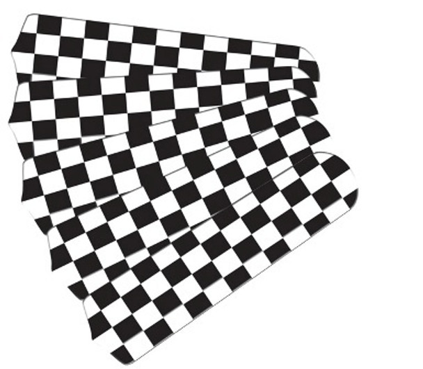 """Checkered Flag 52"""" Ceiling Fan Blades Only"""