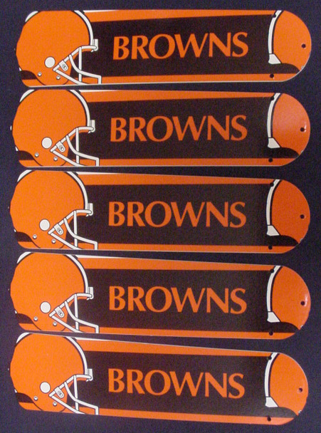 """NFL Cleveland Browns 52"""" Ceiling Fan Blades Only 1"""