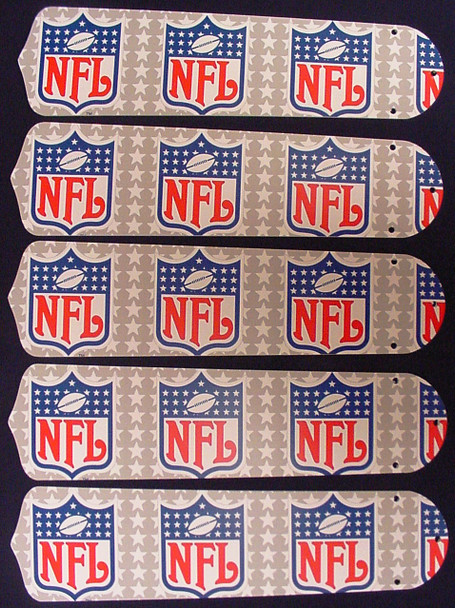 """NFL National Football League 52"""" Ceiling Fan Blades Only 1"""
