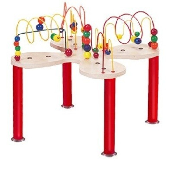 Mini Curves 'n Waves Bead and Wire Table