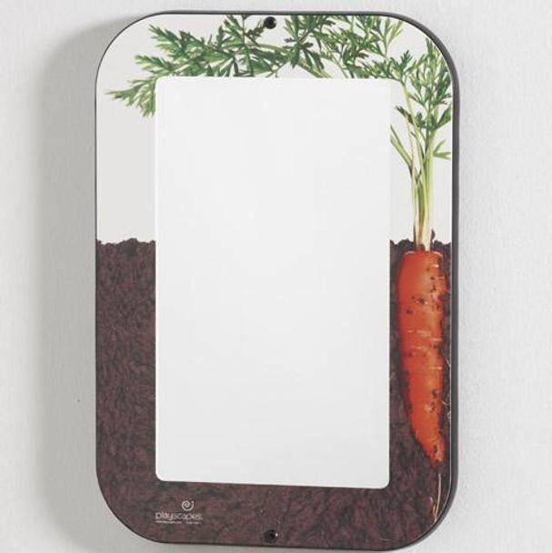 Growing Carrot Wall Mirror