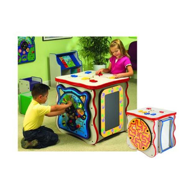 Exploration Island Play Cube
