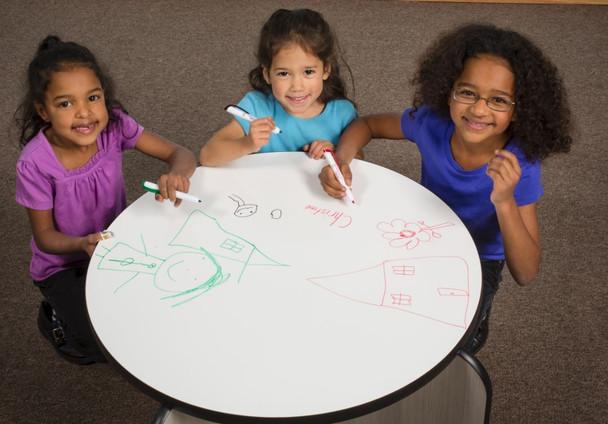 Brainstorming Idea & Creativity Drawing Table