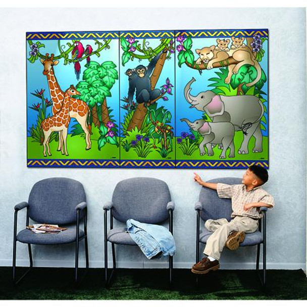 Animal Families Wall Mural