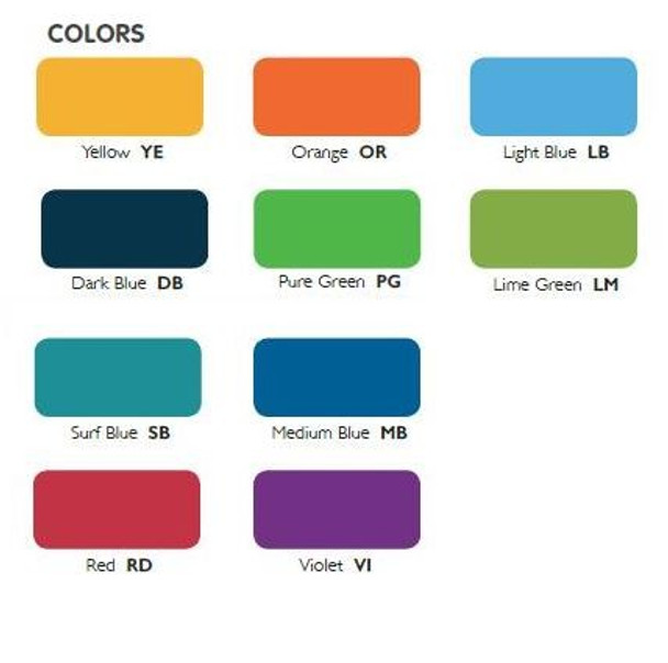 Eco Seating Colors