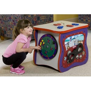 Playscapes Toddler Oasis Red On Speckletone Kids