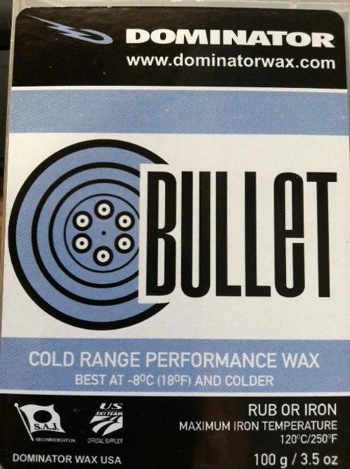 Dominator Sport Bullet Wax -100g