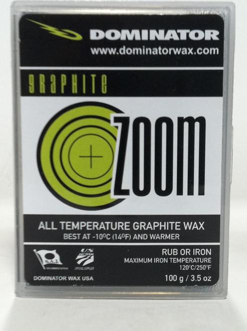 Dominator Universal Graphite Zoom Wax (100g)