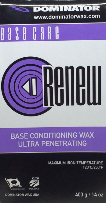 Dominator ReNew Base Prep Wax (400g)