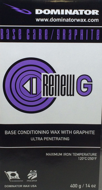 Dominator Graphite ReNew Base Prep Wax (400g)