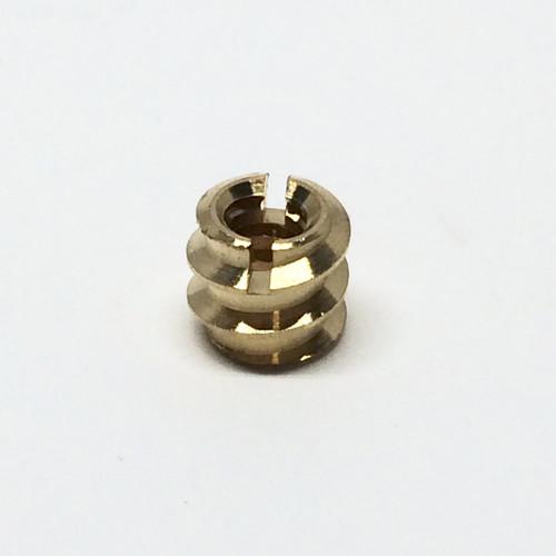 Binding Hole Insert Screw-In (Brass)
