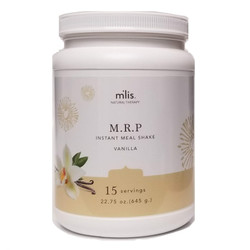 M'lis Instant Meal Organic Vanilla Cream 177 Calories Gluten, Hormone, Lactose, Sugar Free 15 Servings 22.75 ounce