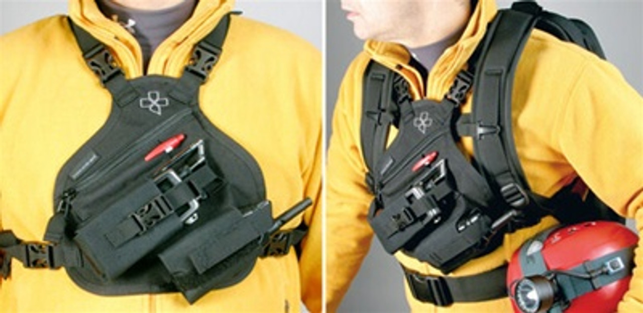 RP-1 Scout Radio Chest Harness | Coaxsher