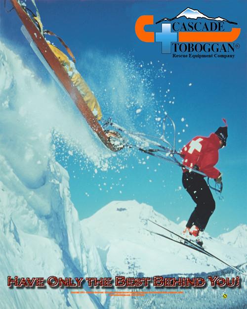 Cascade Toboggan Action Poster