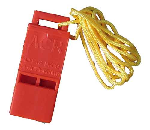 Cascade Rescue ACR Whistle