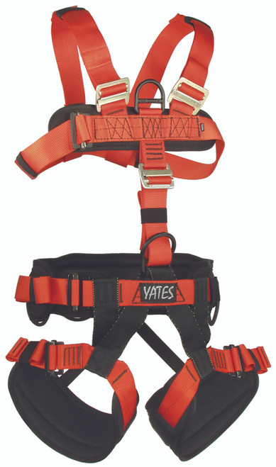 Yates Padded Full Harness | Search and Rescue Harness
