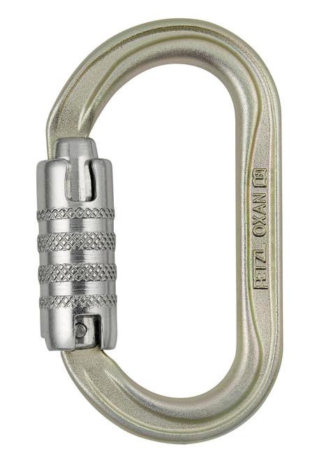 Petzl OXAN Triact Lock Steel Carabiner Standard