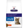 Hills  m/d Glucose/Weight Management Feline - Dry 8.5 Lb.