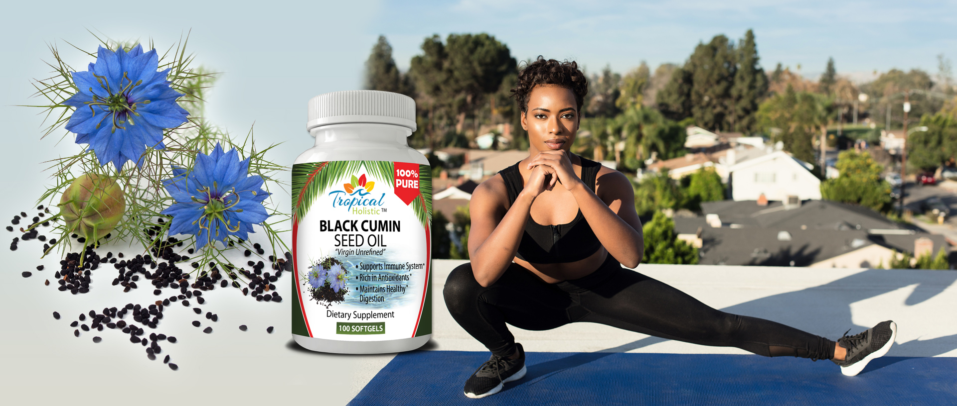 Tropical Holistic BLACK SEED Supplement