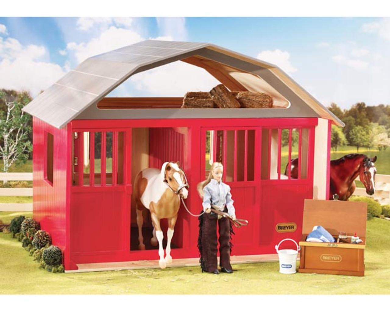 stables desktop barns horse boxes breyerbox breyer mini