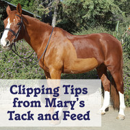 Clipping Tips from Mary's Tack and Feed