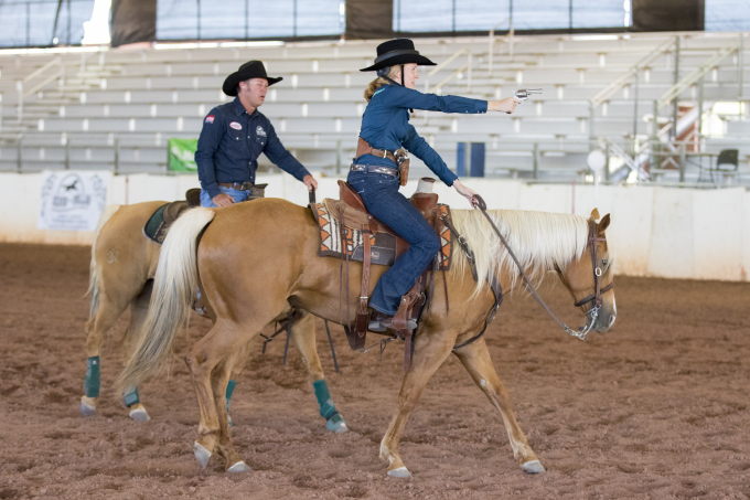 Guest Post: Cowboy Mounted Shooting