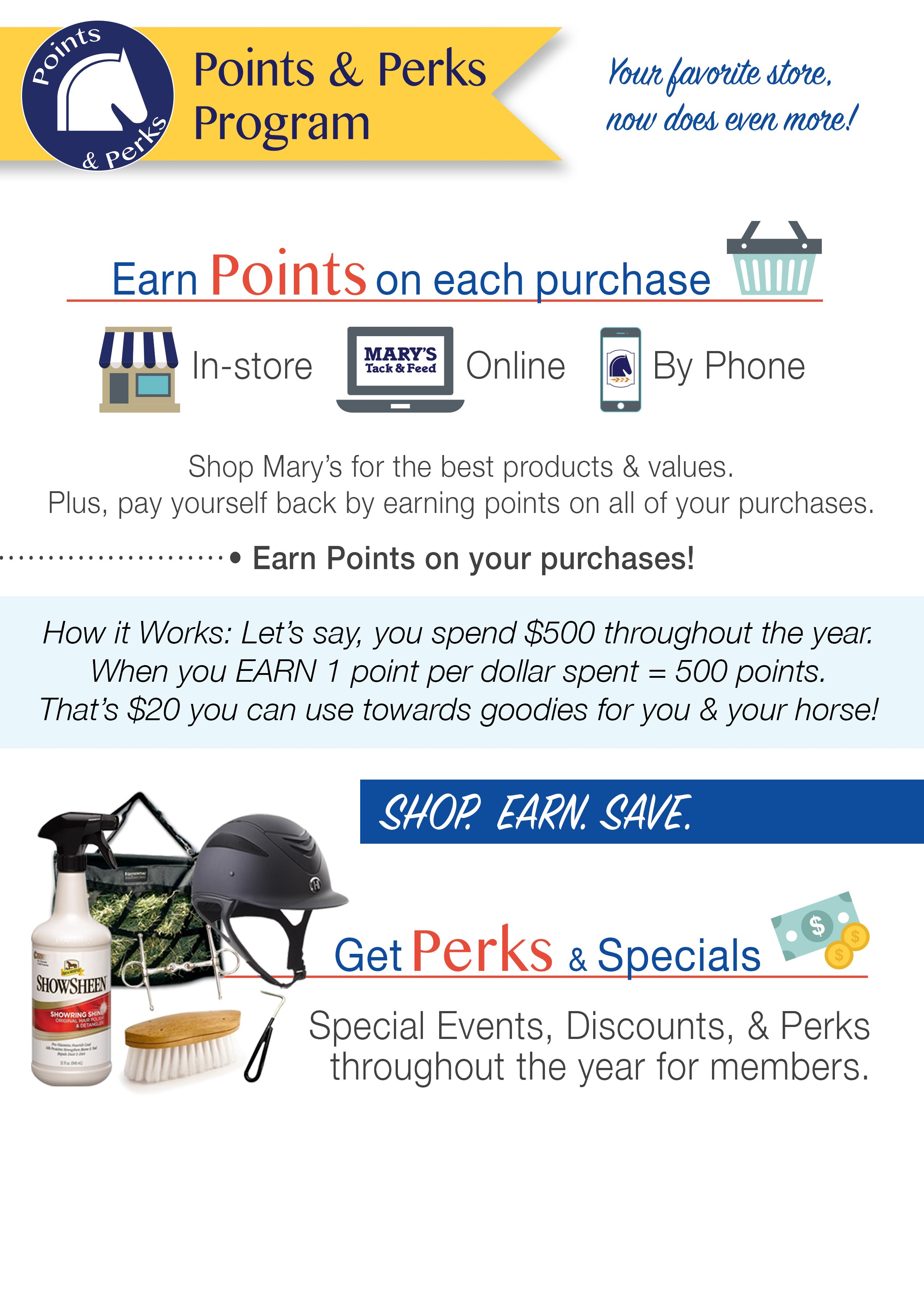 Points & Points Program