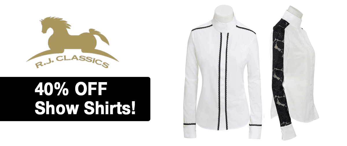 RJ Classics Show Shirts- Save 40%!