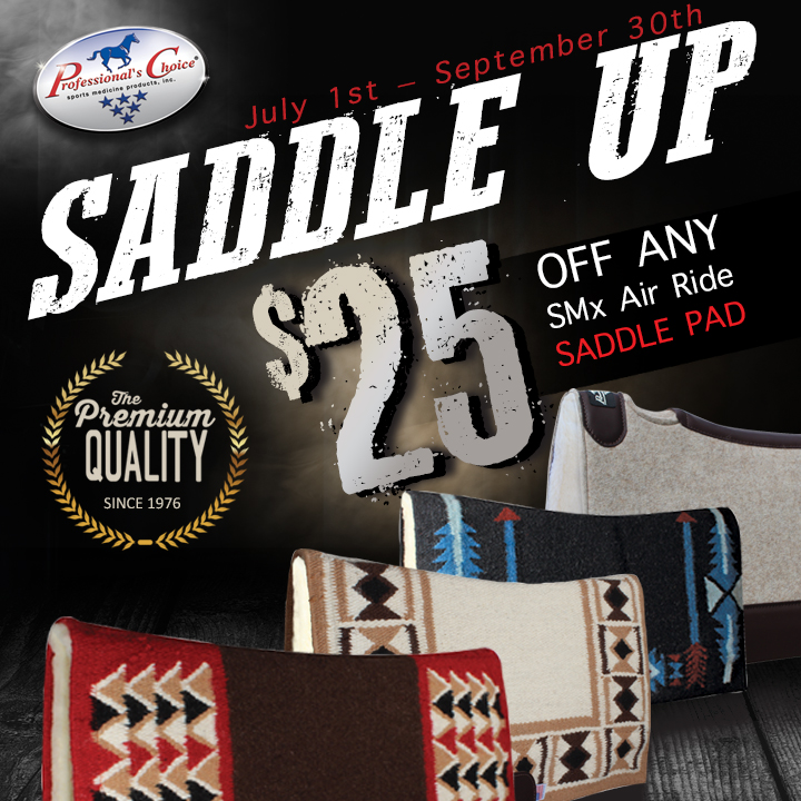 Saddle Up & Save $25