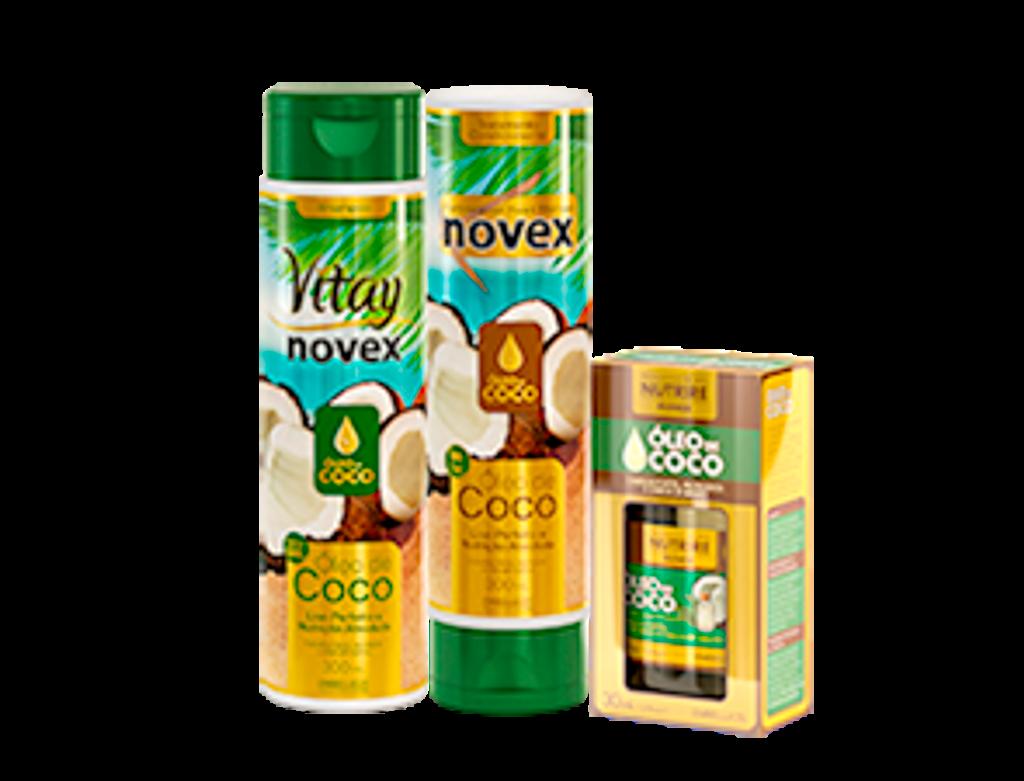 *Lançamento*  Novex - Oleo de coco Professional food therapy - 1kg
