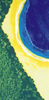 Toalha de Praia - Brasil 01 / Beach Towel - 76cm x 1,52m