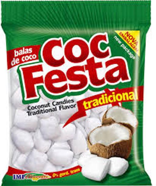 Bala de Coco Coc Festa Natural 500gr
