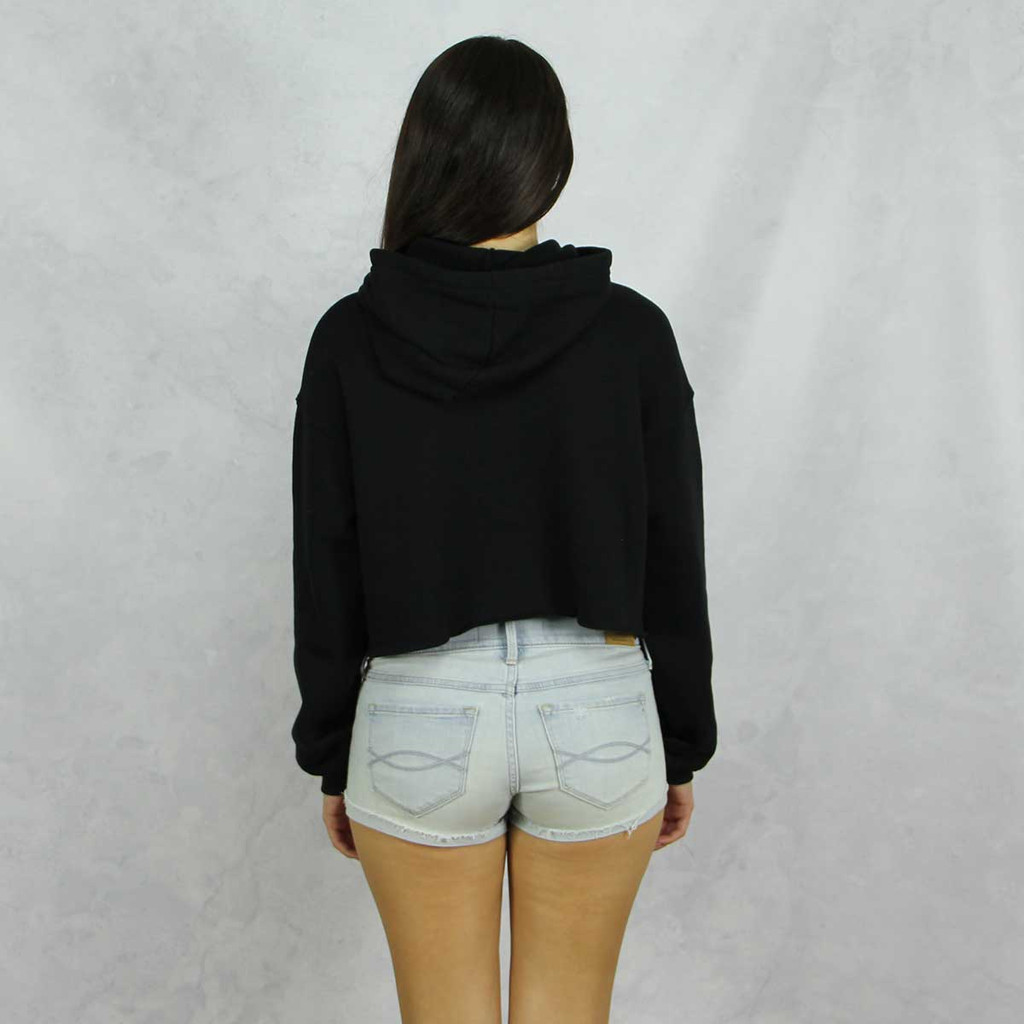 Delta Gamma Cropped Hoodie Back