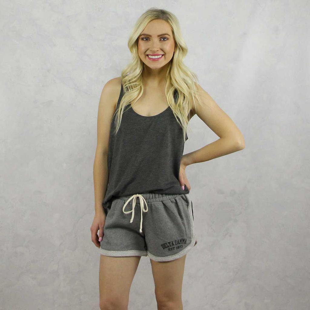 Delta Gamma Shorts in Grey
