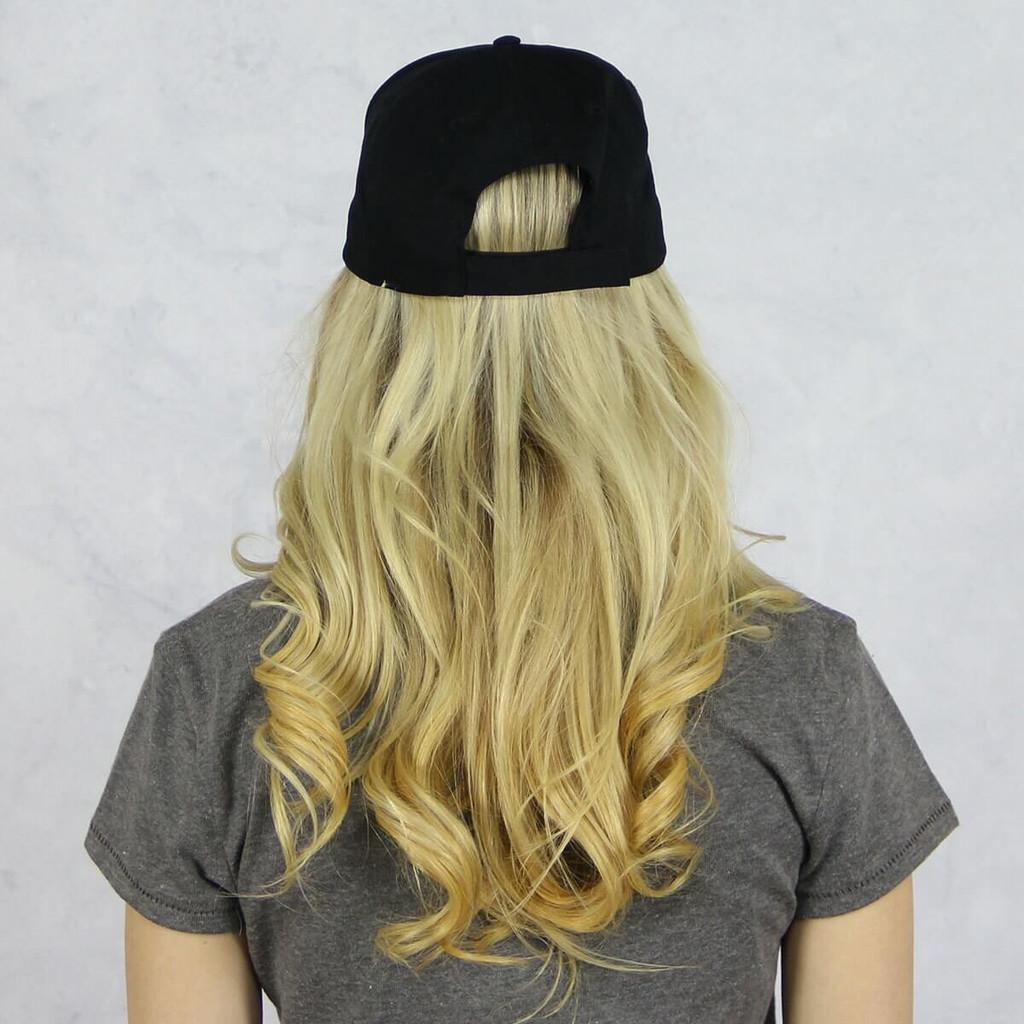 Delta Gamma Baseball Hat in Black on Black Back